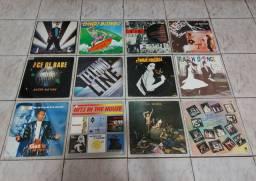 VINIL - LOTE C/12 LP'S / TECHNO LINE/LA BIONDA/FLASH DANCE/THE BEST OF +