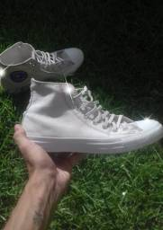 Converse All Star cano Alto Bege Original