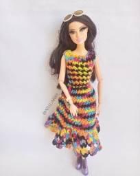 Vestido para Barbie