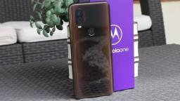 Motorola One vision 128Gb com 2 meses de uso  com NF