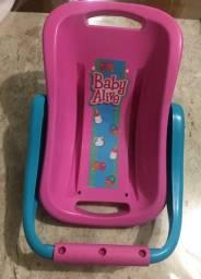 Bebê conforto Baby Alive