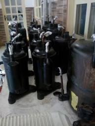 Compressor 24, 18, 12 e 9 Mil BTUs : Ar Condicionado