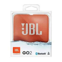 Caixa de Som Potáril JBL Go 2 Laranja