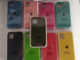Case iPhone 11 l interior aveludado / cores