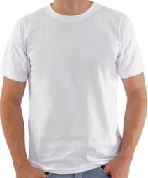 Camiseta básica 100% algodão