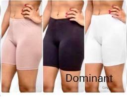 Shortinho short lycra preto branco bege microfibra shorts SHORT