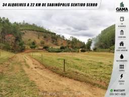 Fazenda com 34 alqueires a 22 km de Sabinópolis sentido Serro