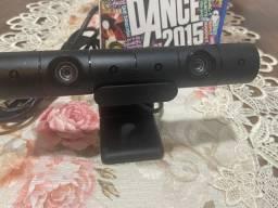 Câmera modelo novo para PlayStation 4 Sony original mais jogo e suporte pra TV