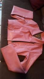 Jaqueta de couro tm P