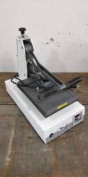 Prensa térmica manual para selar caixas e bandejas para alimentos
