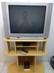 Tv 29 rack e conversor digital