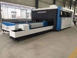 Maquina de corte a laser metais fibra óptica