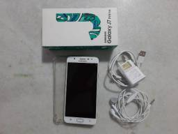 Smartphone Samsung Galaxy J7 Prime 32GB Dourado + 16GB MicroSD Sandisk Classe 10 + Capinha