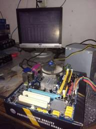 Kit 775 ddr2 completo apenas 200 reais