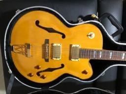 Guitarra Condor semi-acústico novíssima! Excelente oportunidade