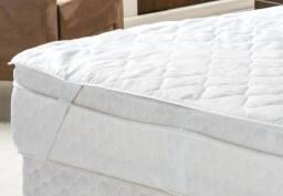 Protetor colchão queen 100% impermeável