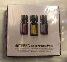 Kit com 3 óleos essenciais