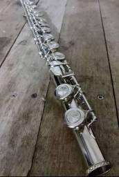 Flauta transversal semi nova