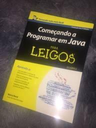 Livro Começando a Programar em Java para Leigos