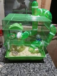 Gaiola com 2 hamster