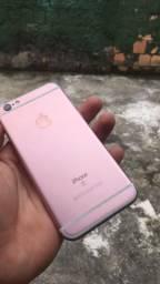 iPhone 6s com nota e carregador ac cartão