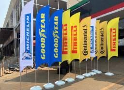 Flag banner, bandeiras