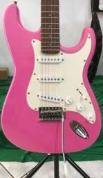 Guitarra Giannini Rosa