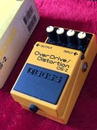 Pedal de Guitarra Overdrive/Distortion Os-2