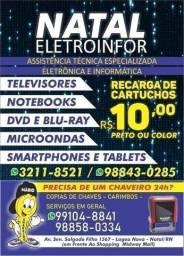 Assistência Técnica - Eletrônica e Informática - Natal Eletroinfor