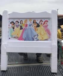 Cama em Madeira Maciça das Princesas #Entrega E Montagem Grátis