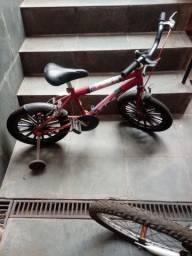 150, 00R$ Bicicleta Ladybug aro 16
