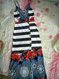 Vestido longo lindo usado 1 vez