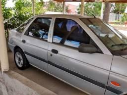 Ford Escort GL 16V, Prata, 97