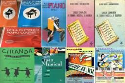 Teclado Piano órgão;iniciante ao avançado;Método