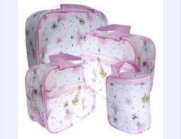 Bolsa kit maternidade com 4 peças