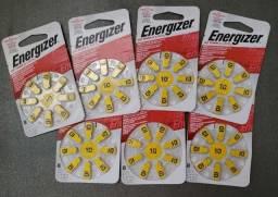 Bateria Energizer Para Aparelho Auditivo Az 10 (8 Unidades)