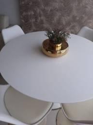 Tampo de mesa em nanoglass com 1,10m de diâmetro .