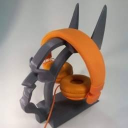 Suporte de fone de ouvido Batman