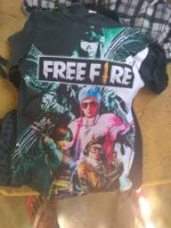 Camisa do Free fire
