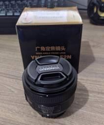 Lente Yongnuo Nikon 35mm 2.0 (NOVA)