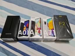 Galaxy A71 lacrado CINZA