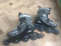 Patins Roller Radical Preto - Bel Sports