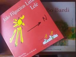 livros arquitetura _ lina bo bardi e lelé