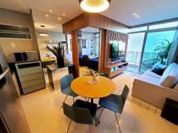 (JR)* Compacto de Luxo na Aldeota, Apartamento 33m² a 57m², Ultimas Unidades Corre!