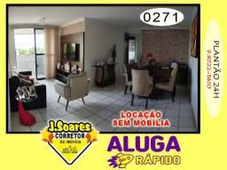 J. C. Universitária, Piscina, 3 quartos, 80m° R$ 1.300, Aluguel, Apartamento, João Pessoa