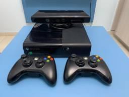 Xbox 360 desbloqueado + 24 Jogos e Brinde