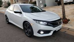 Honda Civic 2017 Sport CVT 2.0 Branco Perola Baixa km