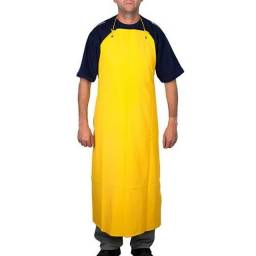 Avental de PVC amarelo