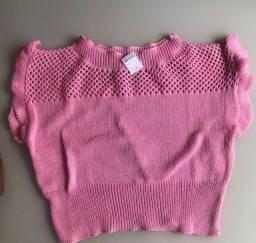 Blusinha tricozinho