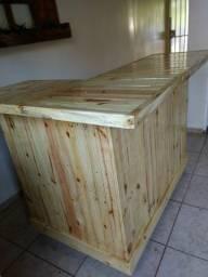 Balcão caixa de paletes para lojas